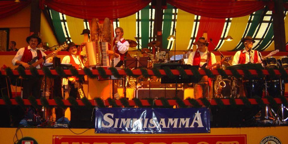 SIMMISAMMA die Oktoberfestband live auf dem Münchner Oktoberfest – 12