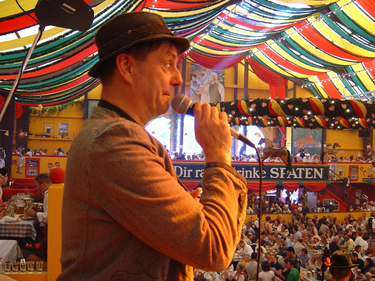 SIMMISAMMA die Oktoberfestband live auf dem Münchner Oktoberfest – 18