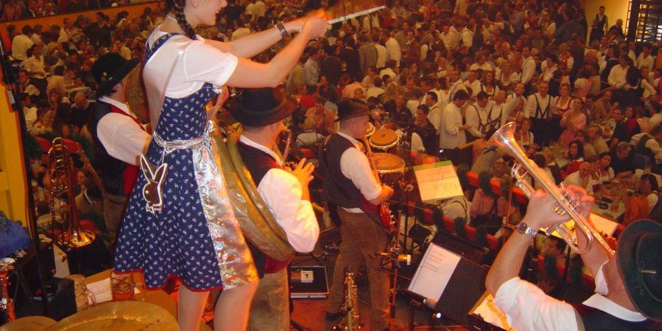 SIMMISAMMA die Oktoberfestband live auf dem Münchner Oktoberfest – 2