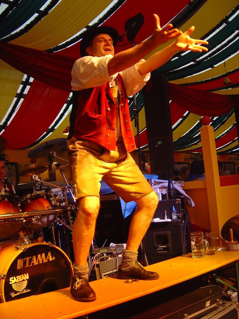 SIMMISAMMA die Oktoberfestband live auf dem Münchner Oktoberfest – 24