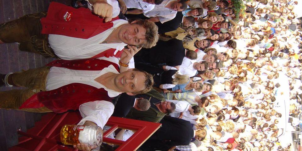 SIMMISAMMA die Oktoberfestband live auf dem Münchner Oktoberfest – 48