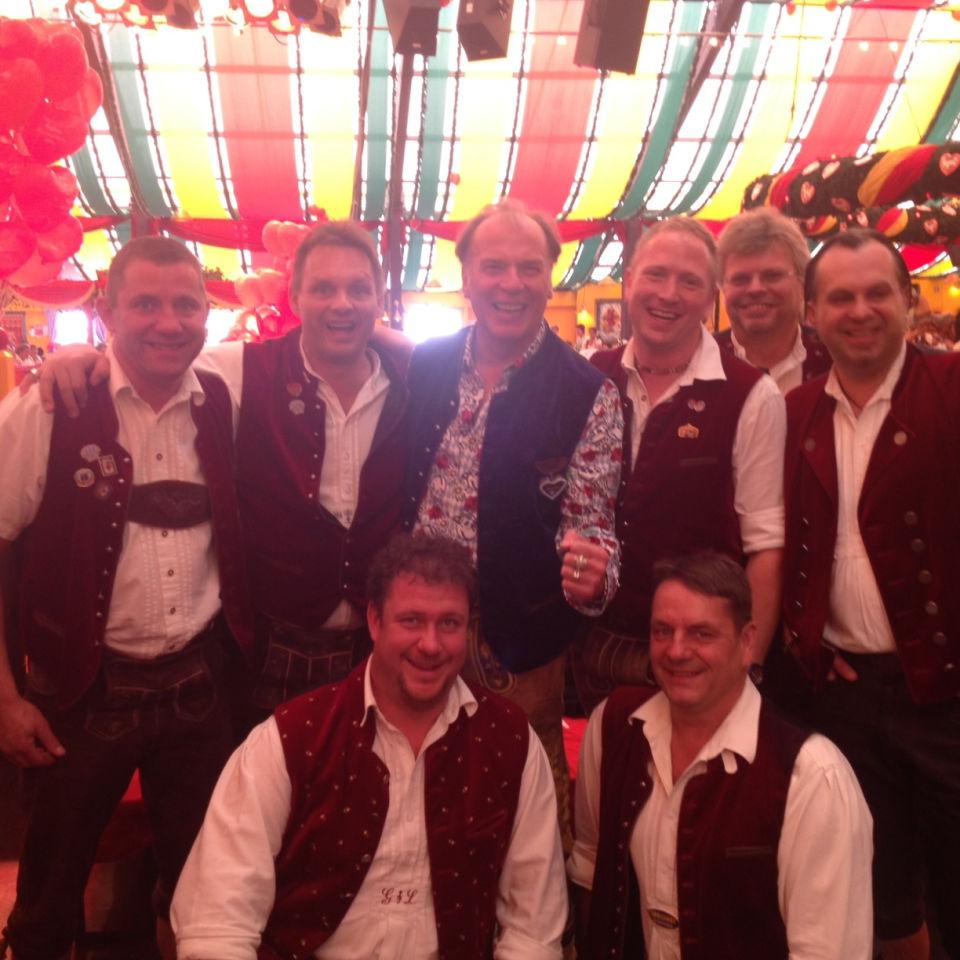 Wolfgang Vierek und SIMMISAMMA die Oktoberfestband