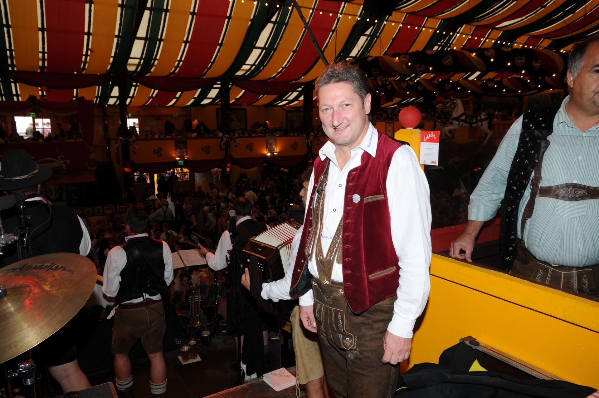 Simmisamma die Oktoberfestband – Konzert Hippodrom Oktoberfest München Deutschland 02