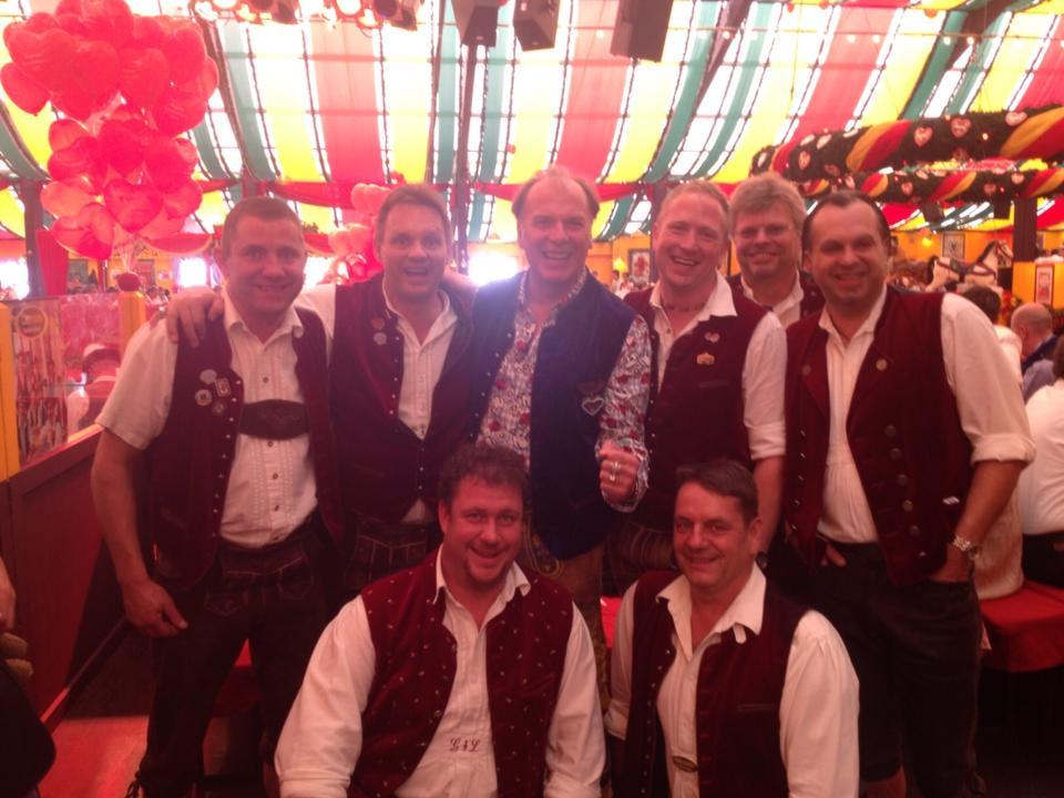 Simmisamma die Oktoberfestband – Konzert Hippodrom Oktoberfest München Deutschland 04