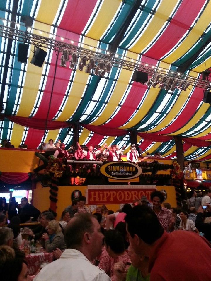 Simmisamma die Oktoberfestband – Konzert Hippodrom Oktoberfest München Deutschland 07