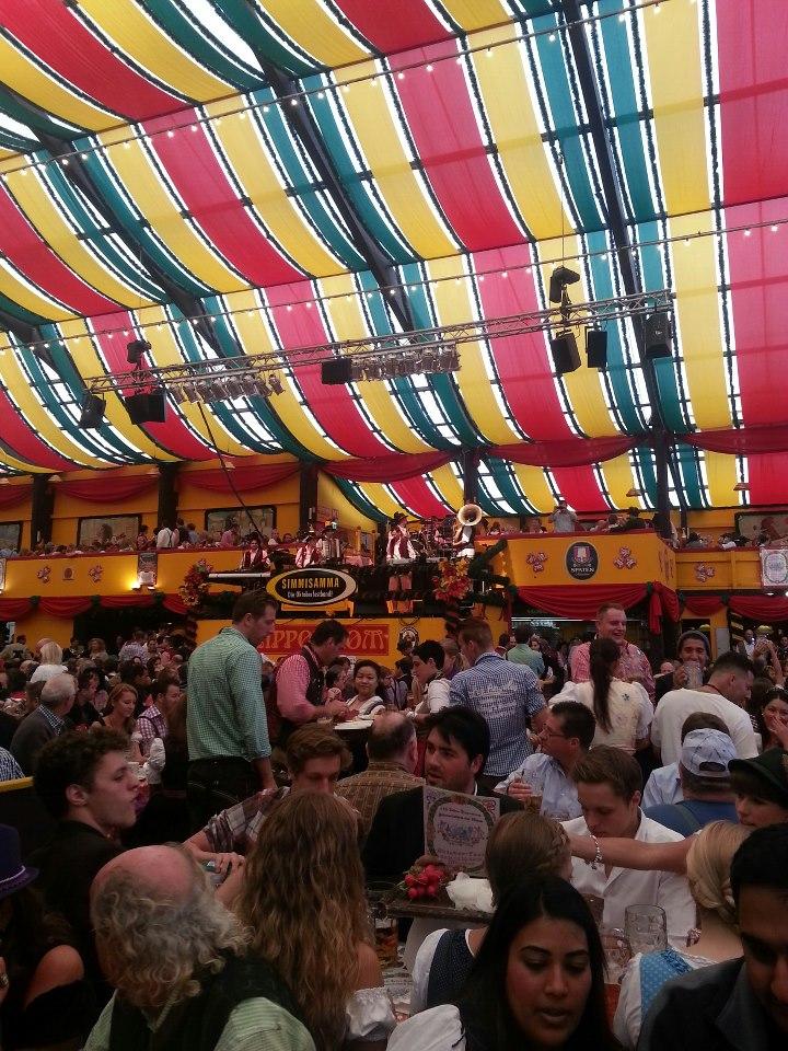 Simmisamma die Oktoberfestband – Konzert Hippodrom Oktoberfest München Deutschland 08