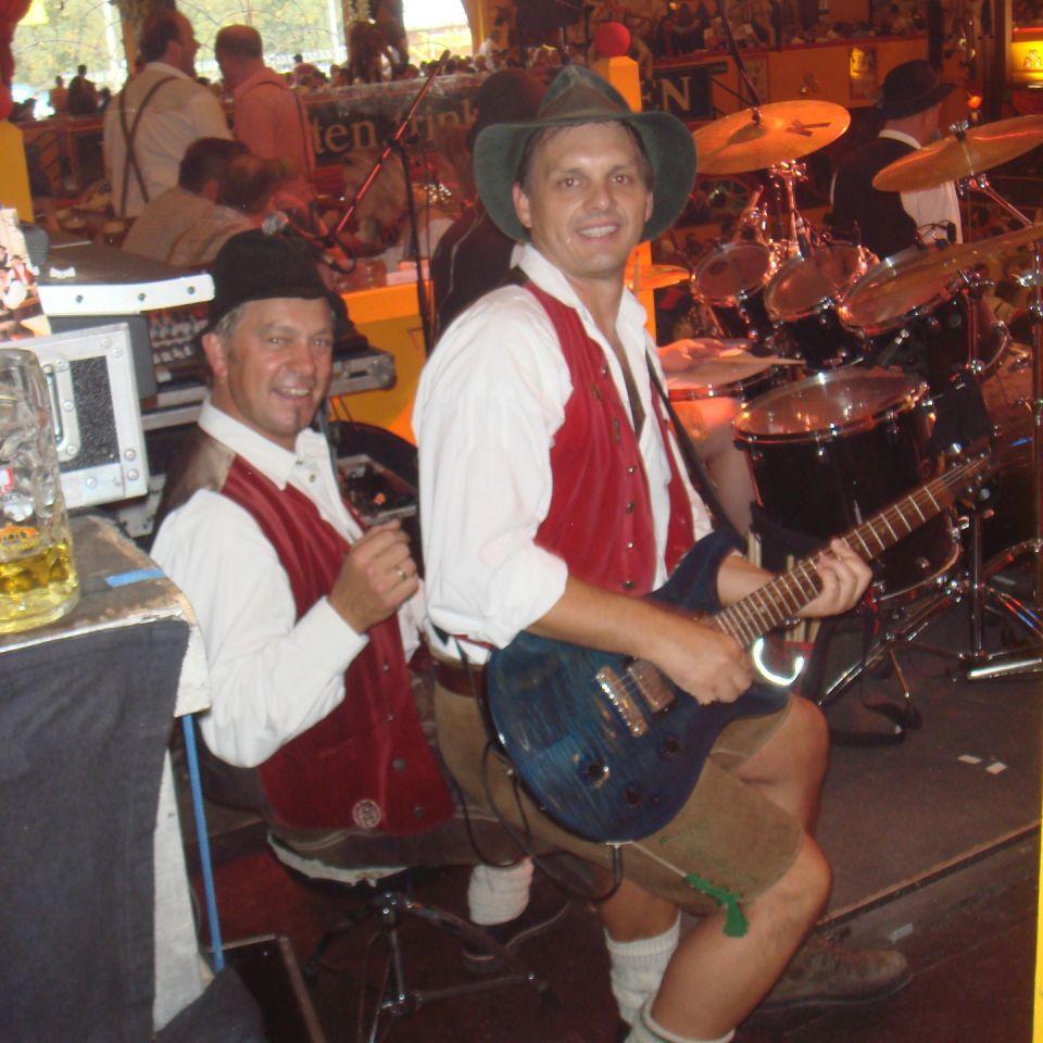 Simmisamma die Oktoberfestband – Konzert Hippodrom Oktoberfest München Deutschland 101