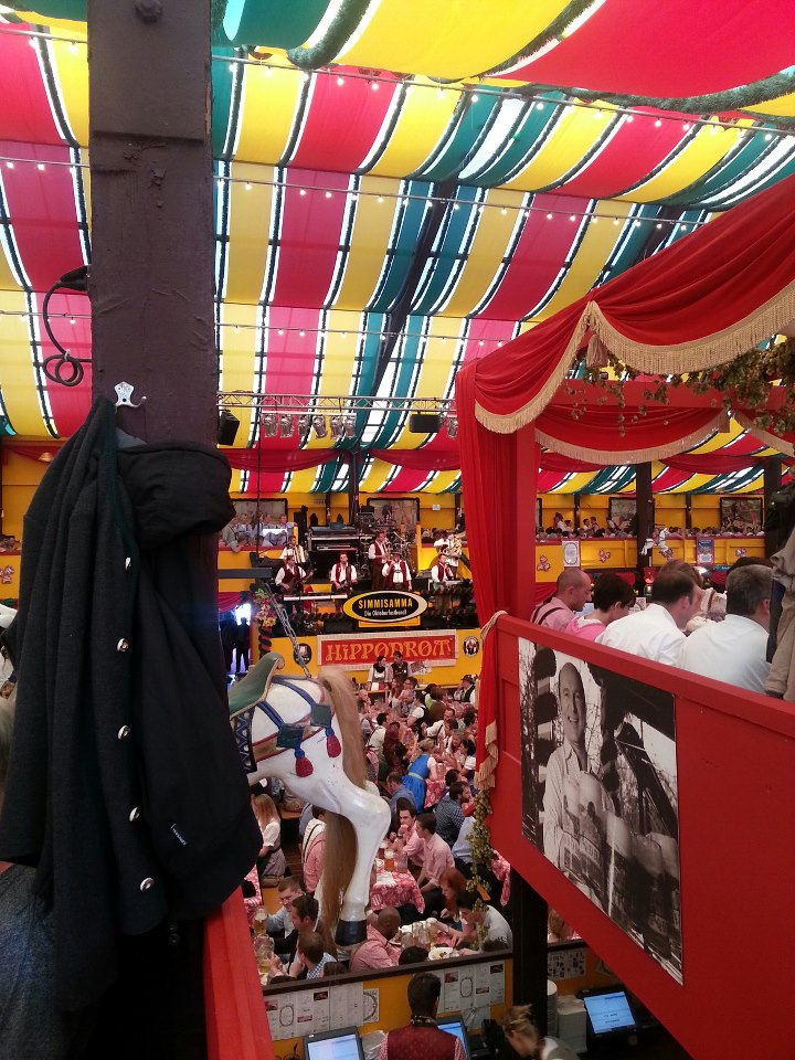 Simmisamma die Oktoberfestband – Konzert Hippodrom Oktoberfest München Deutschland 11