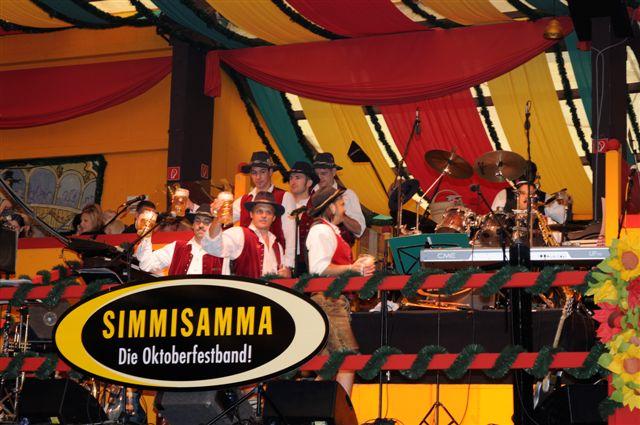 Simmisamma die Oktoberfestband – Konzert Hippodrom Oktoberfest München Deutschland 13