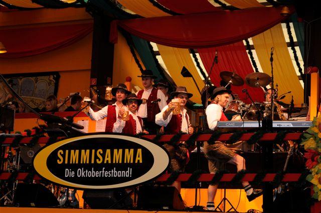 Simmisamma die Oktoberfestband – Konzert Hippodrom Oktoberfest München Deutschland 14