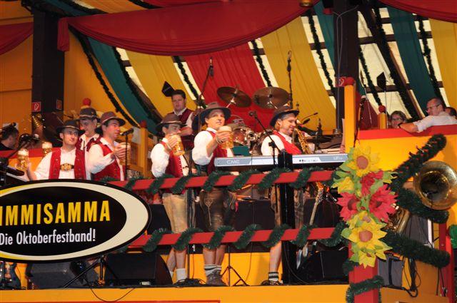 Simmisamma die Oktoberfestband – Konzert Hippodrom Oktoberfest München Deutschland 16
