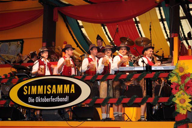 Simmisamma die Oktoberfestband – Konzert Hippodrom Oktoberfest München Deutschland 17