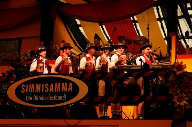 Simmisamma die Oktoberfestband – Konzert Hippodrom Oktoberfest München Deutschland 18