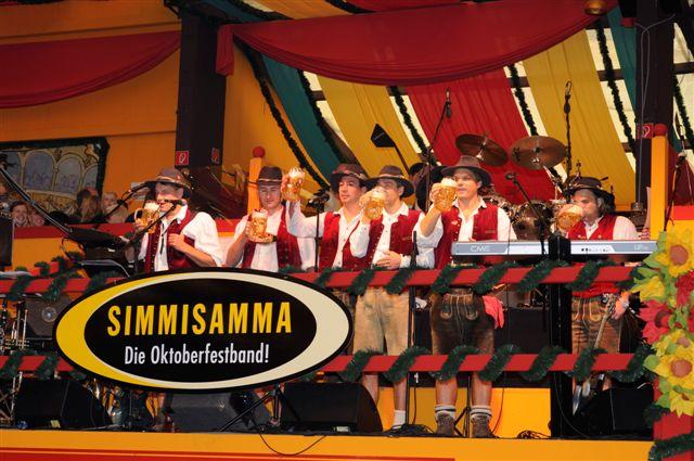 Simmisamma die Oktoberfestband – Konzert Hippodrom Oktoberfest München Deutschland 20