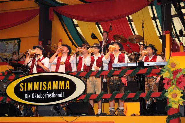 Simmisamma die Oktoberfestband – Konzert Hippodrom Oktoberfest München Deutschland 22