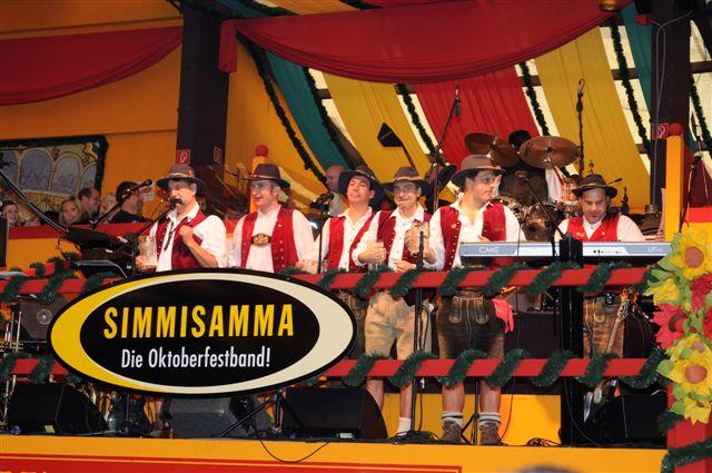 Simmisamma die Oktoberfestband – Konzert Hippodrom Oktoberfest München Deutschland 24