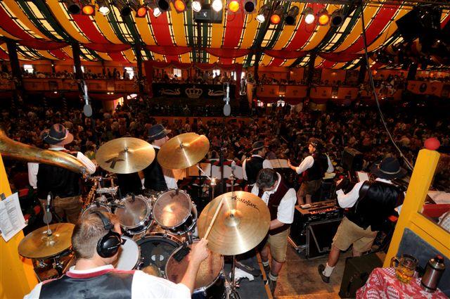 Simmisamma die Oktoberfestband – Konzert Hippodrom Oktoberfest München Deutschland 36