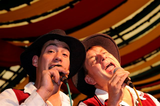 Simmisamma die Oktoberfestband – Konzert Hippodrom Oktoberfest München Deutschland 45