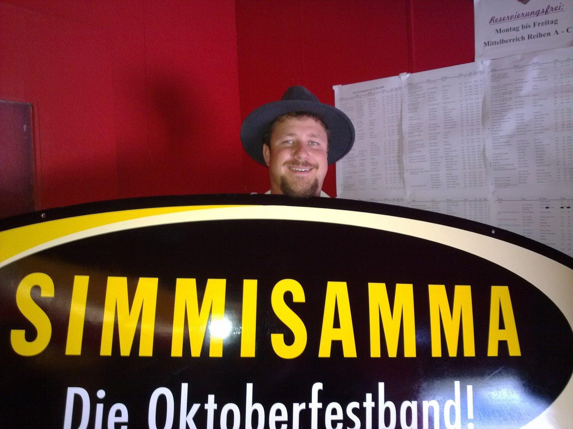 Simmisamma die Oktoberfestband – Konzert Hippodrom Oktoberfest München Deutschland 59
