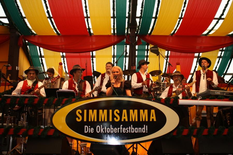 Simmisamma die Oktoberfestband – Konzert Hippodrom Oktoberfest München Deutschland 65