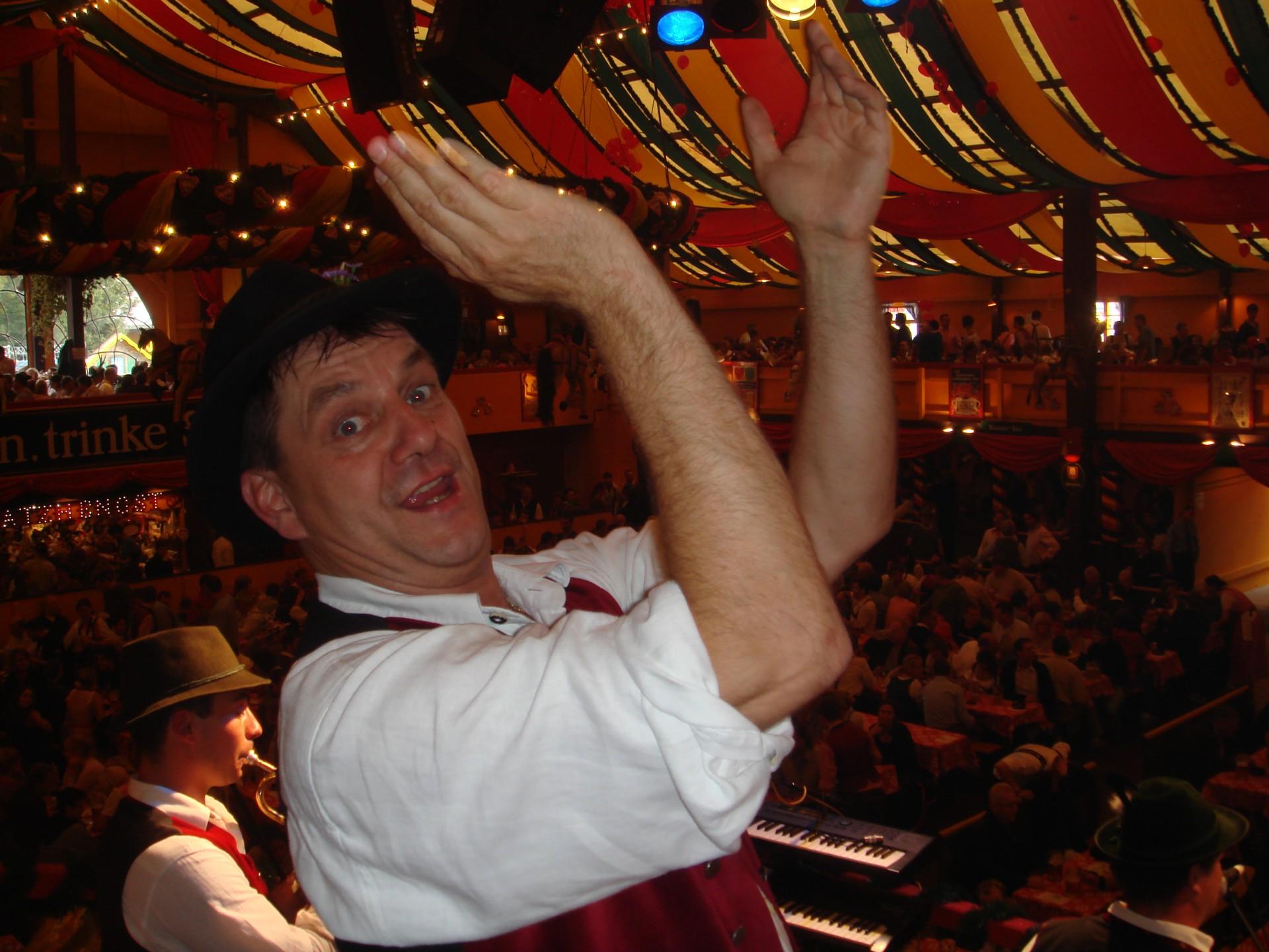 Simmisamma die Oktoberfestband – Konzert Hippodrom Oktoberfest München Deutschland 67