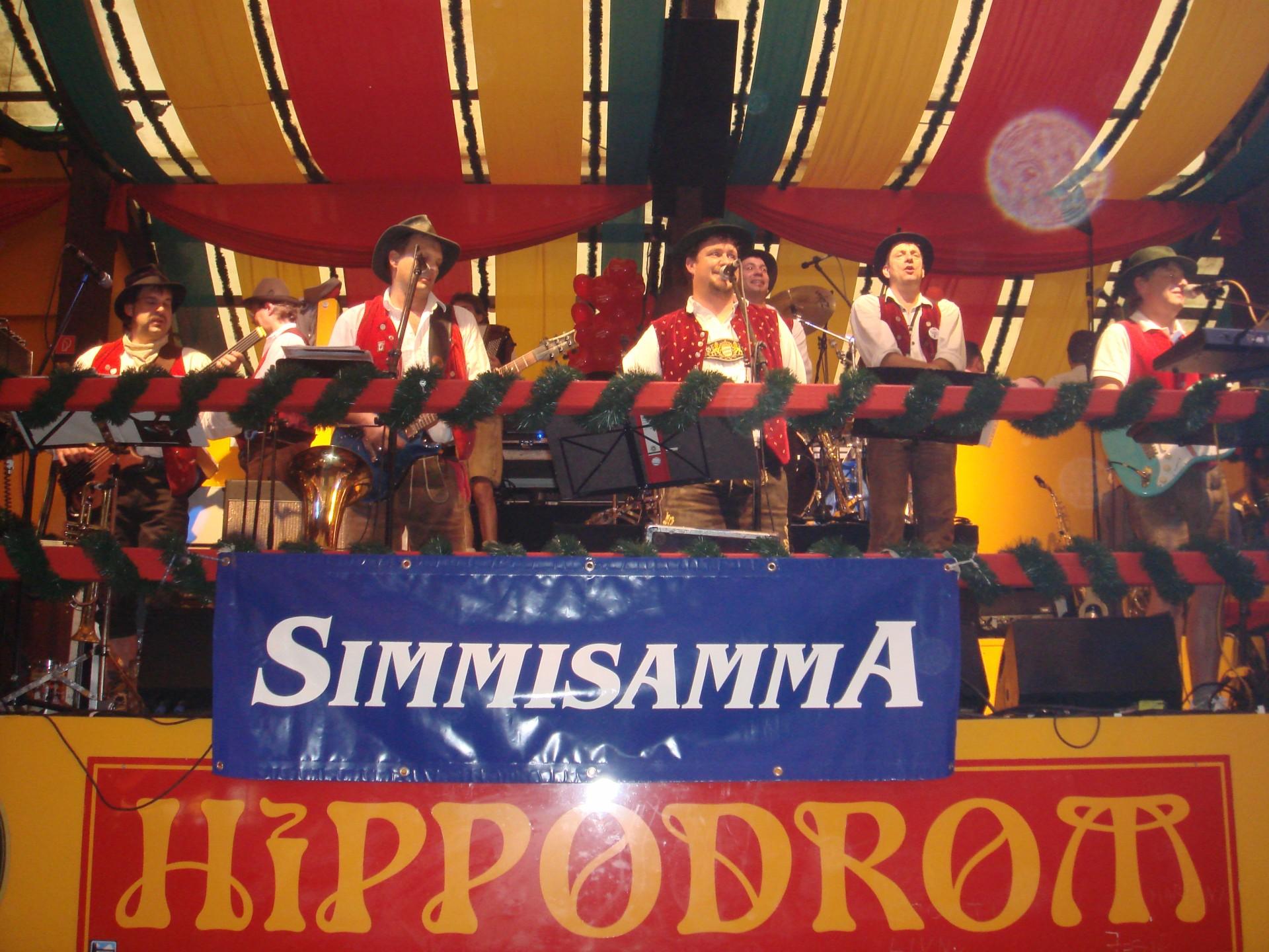Simmisamma die Oktoberfestband – Konzert Hippodrom Oktoberfest München Deutschland 72
