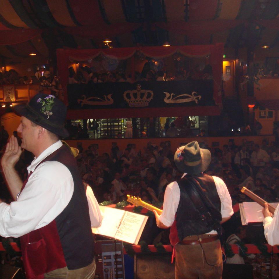 Simmisamma die Oktoberfestband – Konzert Hippodrom Oktoberfest München Deutschland 73