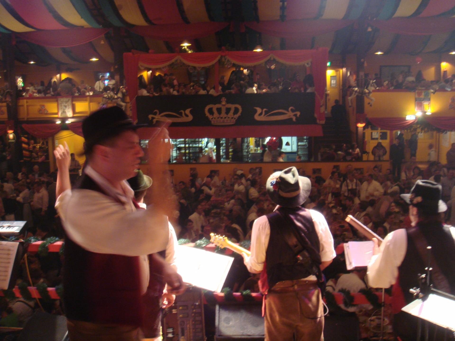 Simmisamma die Oktoberfestband – Konzert Hippodrom Oktoberfest München Deutschland 74