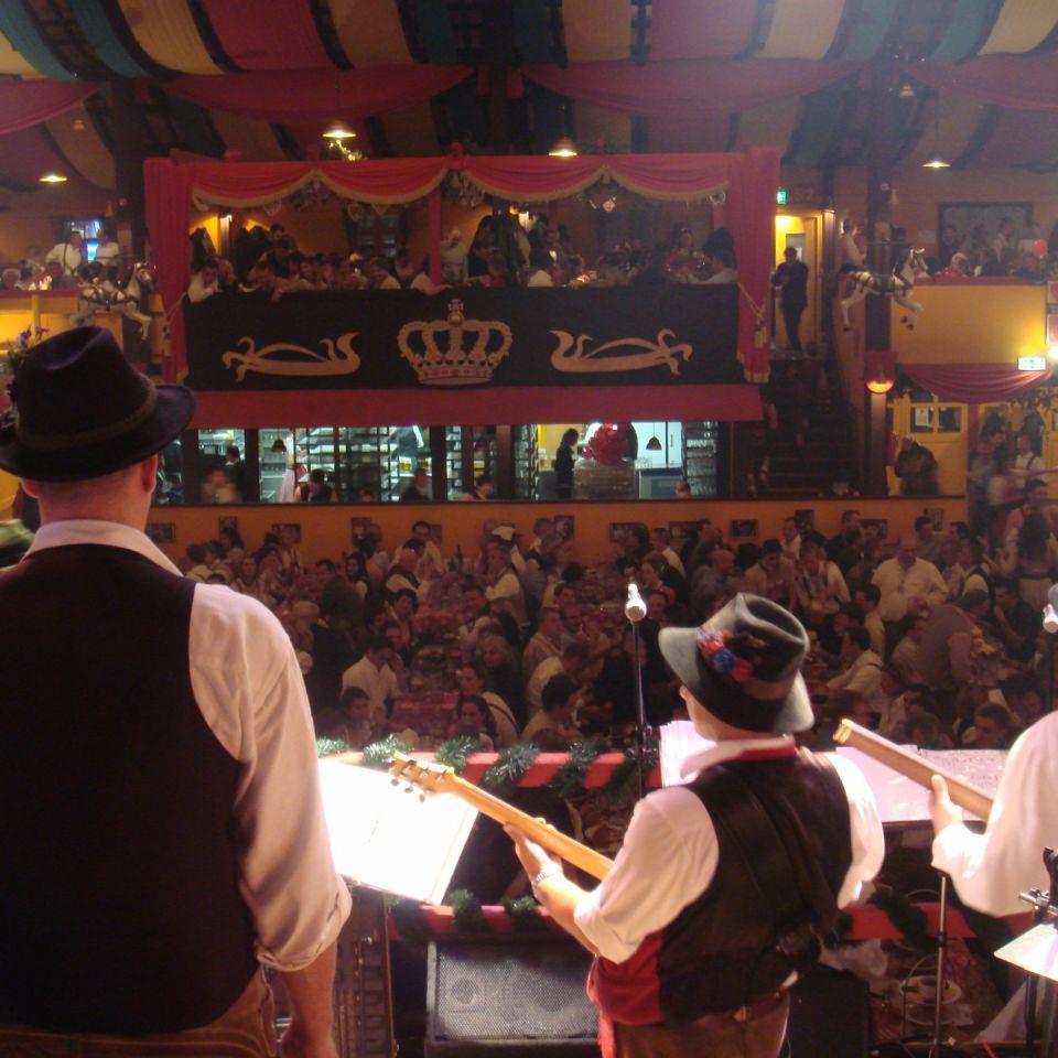 Simmisamma die Oktoberfestband – Konzert Hippodrom Oktoberfest München Deutschland 75