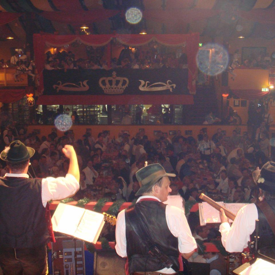 Simmisamma die Oktoberfestband – Konzert Hippodrom Oktoberfest München Deutschland 76