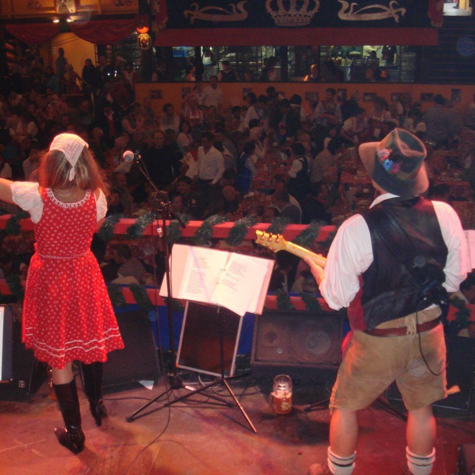 Simmisamma die Oktoberfestband – Konzert Hippodrom Oktoberfest München Deutschland 77