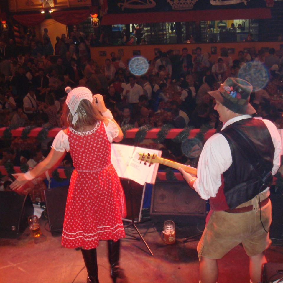 Simmisamma die Oktoberfestband – Konzert Hippodrom Oktoberfest München Deutschland 78