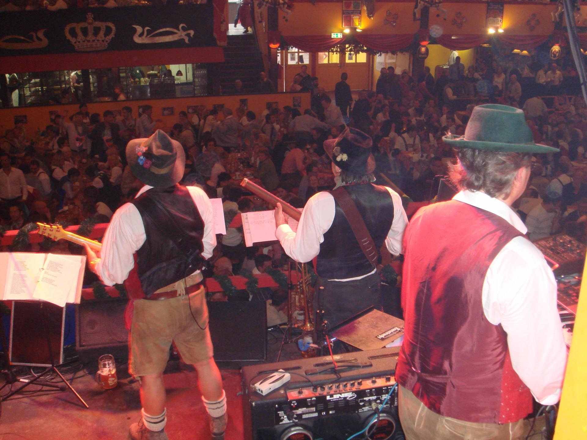Simmisamma die Oktoberfestband – Konzert Hippodrom Oktoberfest München Deutschland 79