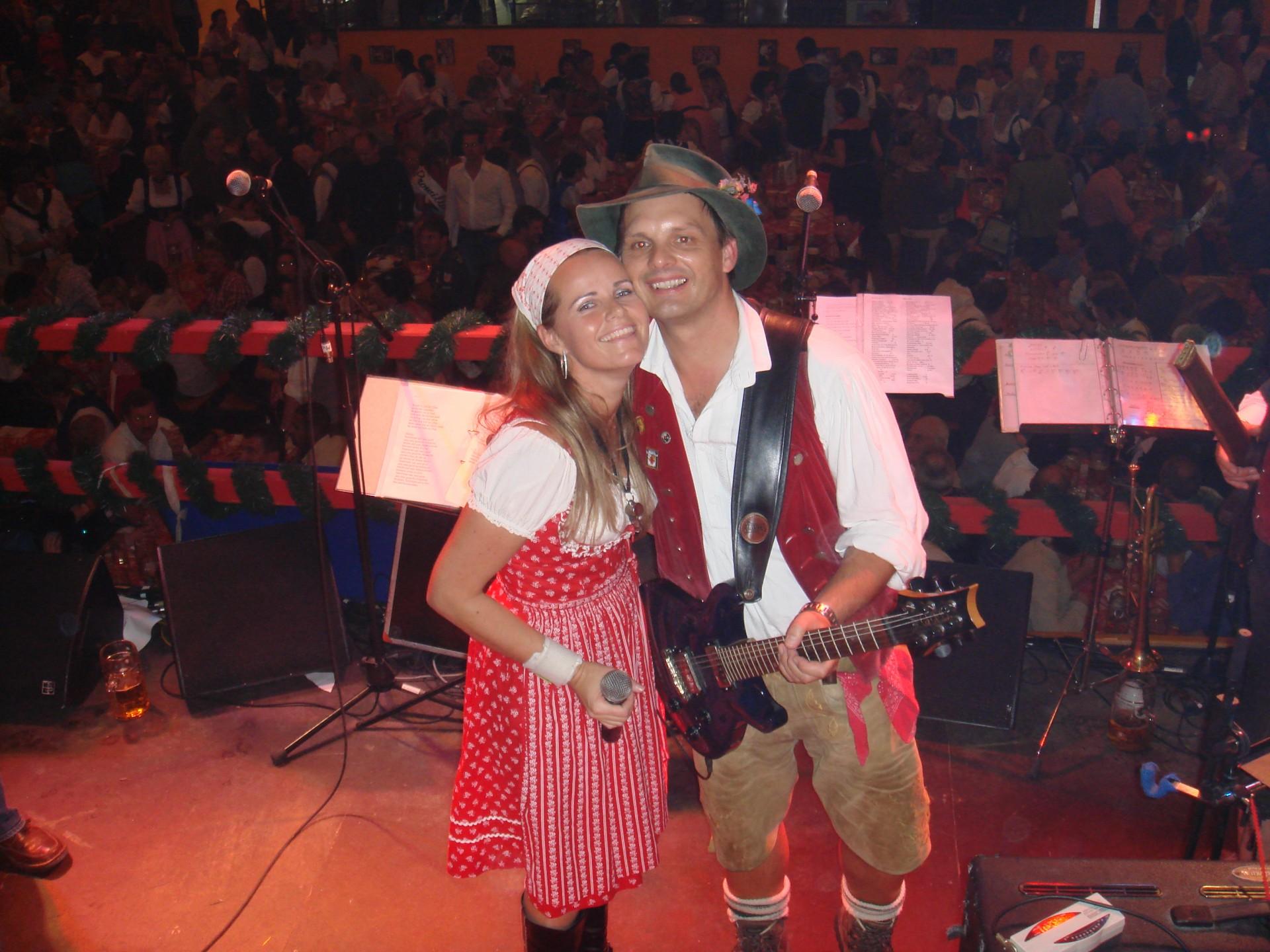 Simmisamma die Oktoberfestband – Konzert Hippodrom Oktoberfest München Deutschland 80