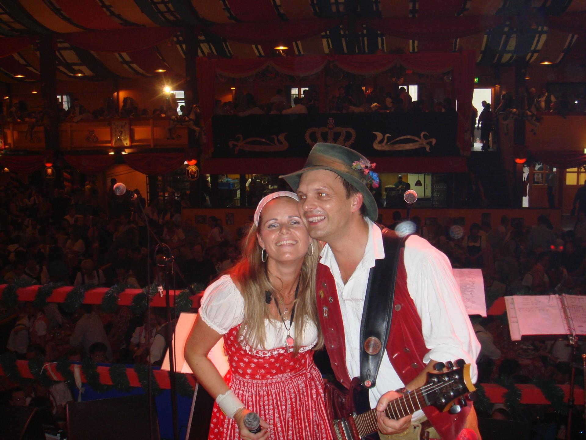 Simmisamma die Oktoberfestband – Konzert Hippodrom Oktoberfest München Deutschland 81