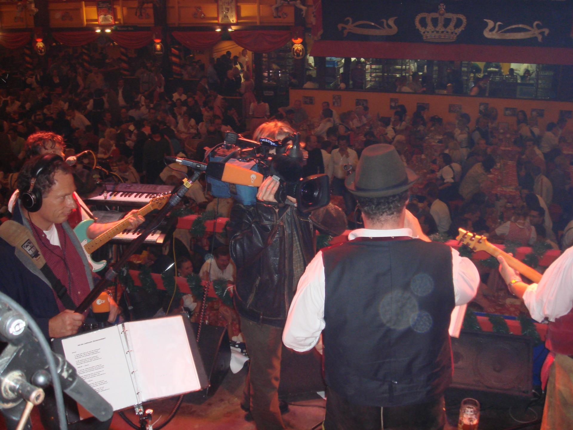 Simmisamma die Oktoberfestband – Konzert Hippodrom Oktoberfest München Deutschland 82