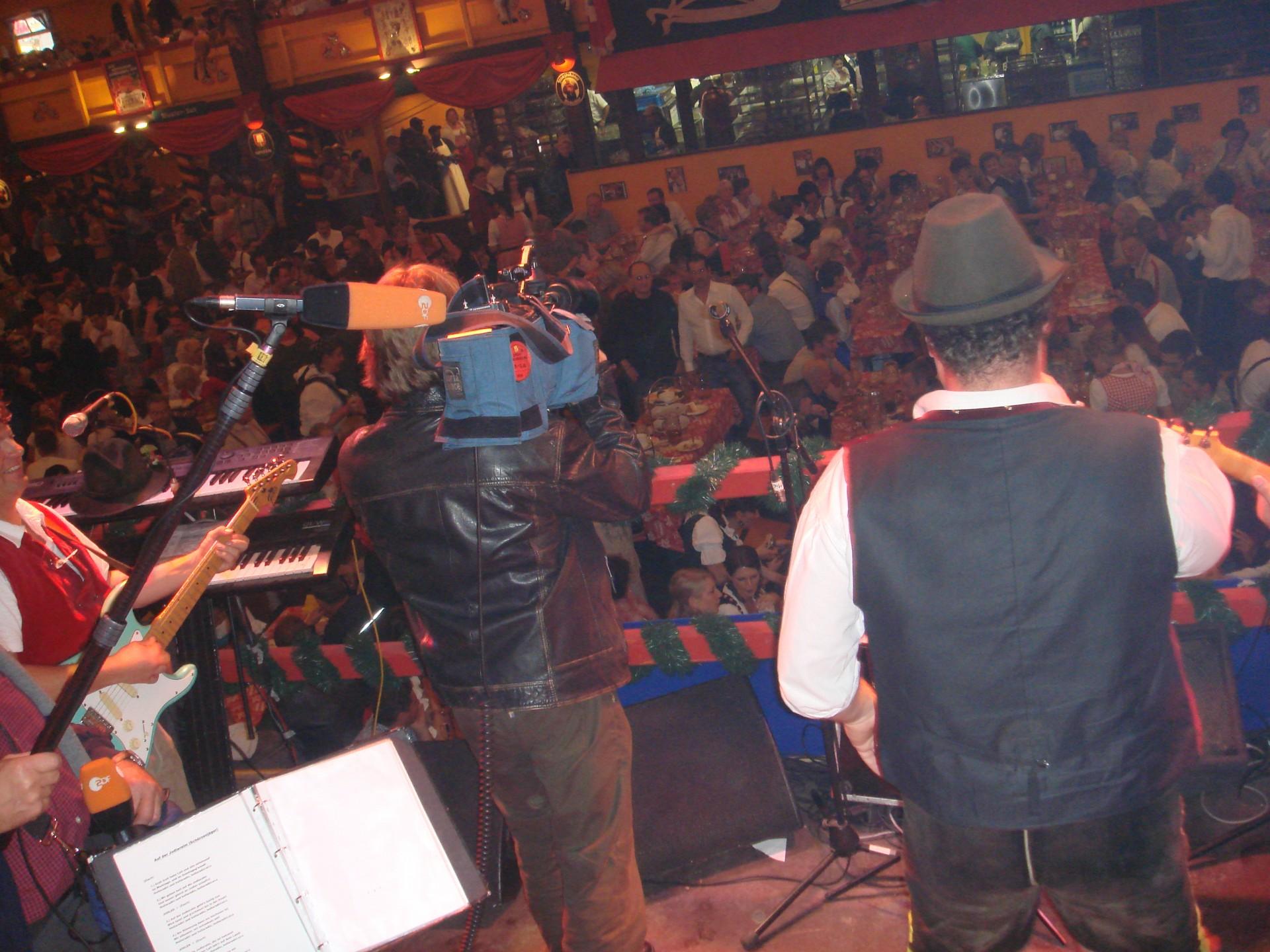 Simmisamma die Oktoberfestband – Konzert Hippodrom Oktoberfest München Deutschland 83