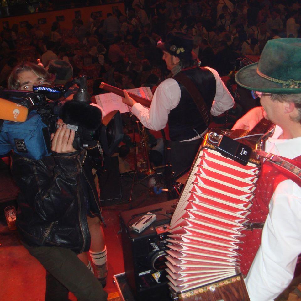 Simmisamma die Oktoberfestband – Konzert Hippodrom Oktoberfest München Deutschland 84