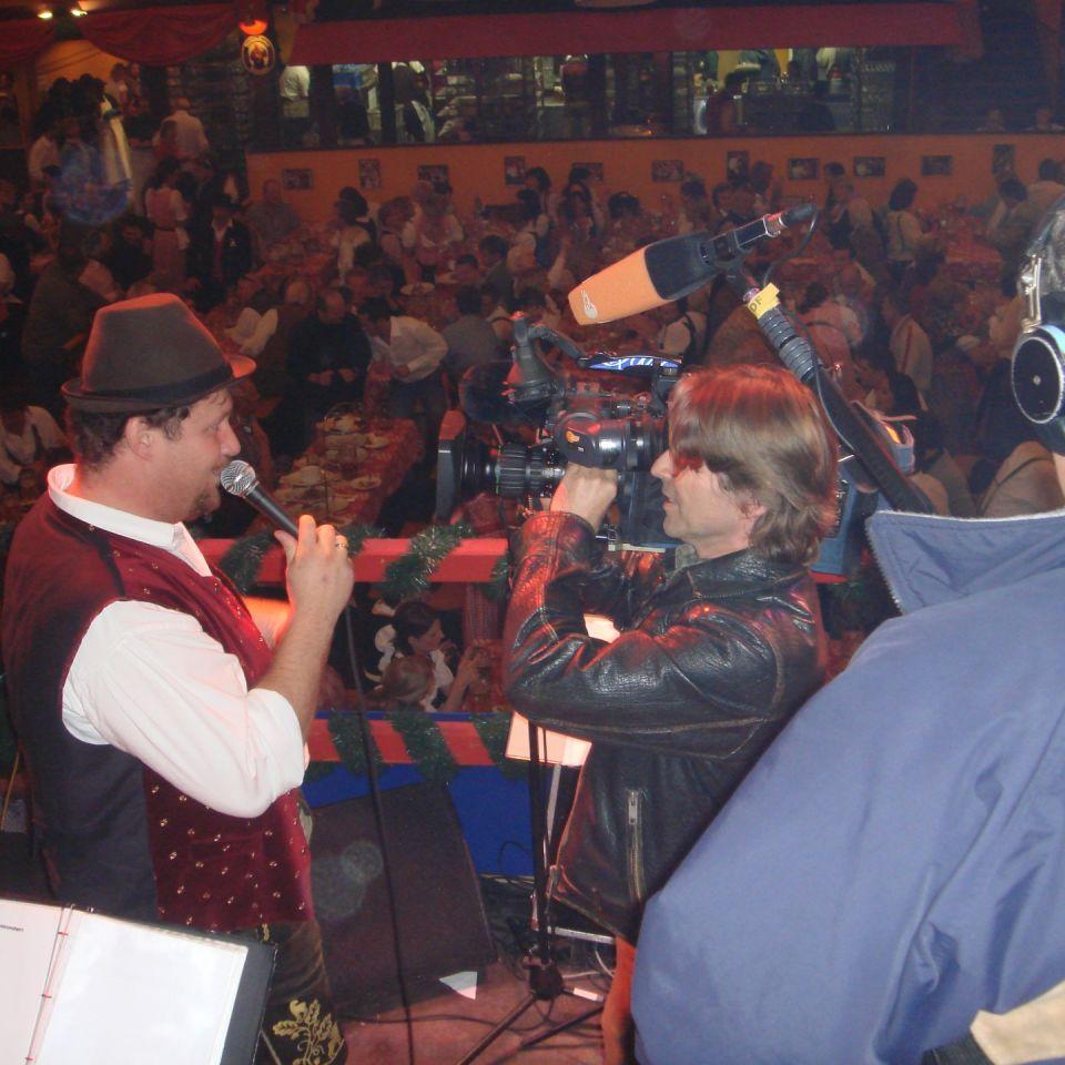 Simmisamma die Oktoberfestband – Konzert Hippodrom Oktoberfest München Deutschland 85