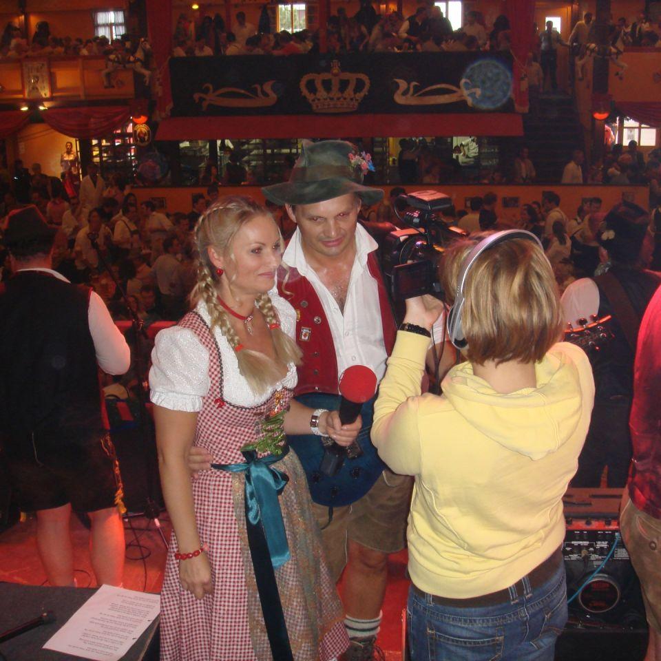 Simmisamma die Oktoberfestband – Konzert Hippodrom Oktoberfest München Deutschland 97