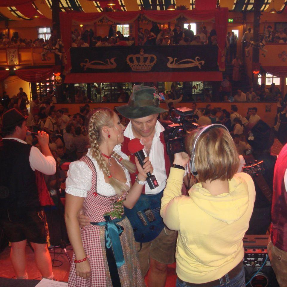 Simmisamma die Oktoberfestband – Konzert Hippodrom Oktoberfest München Deutschland 98