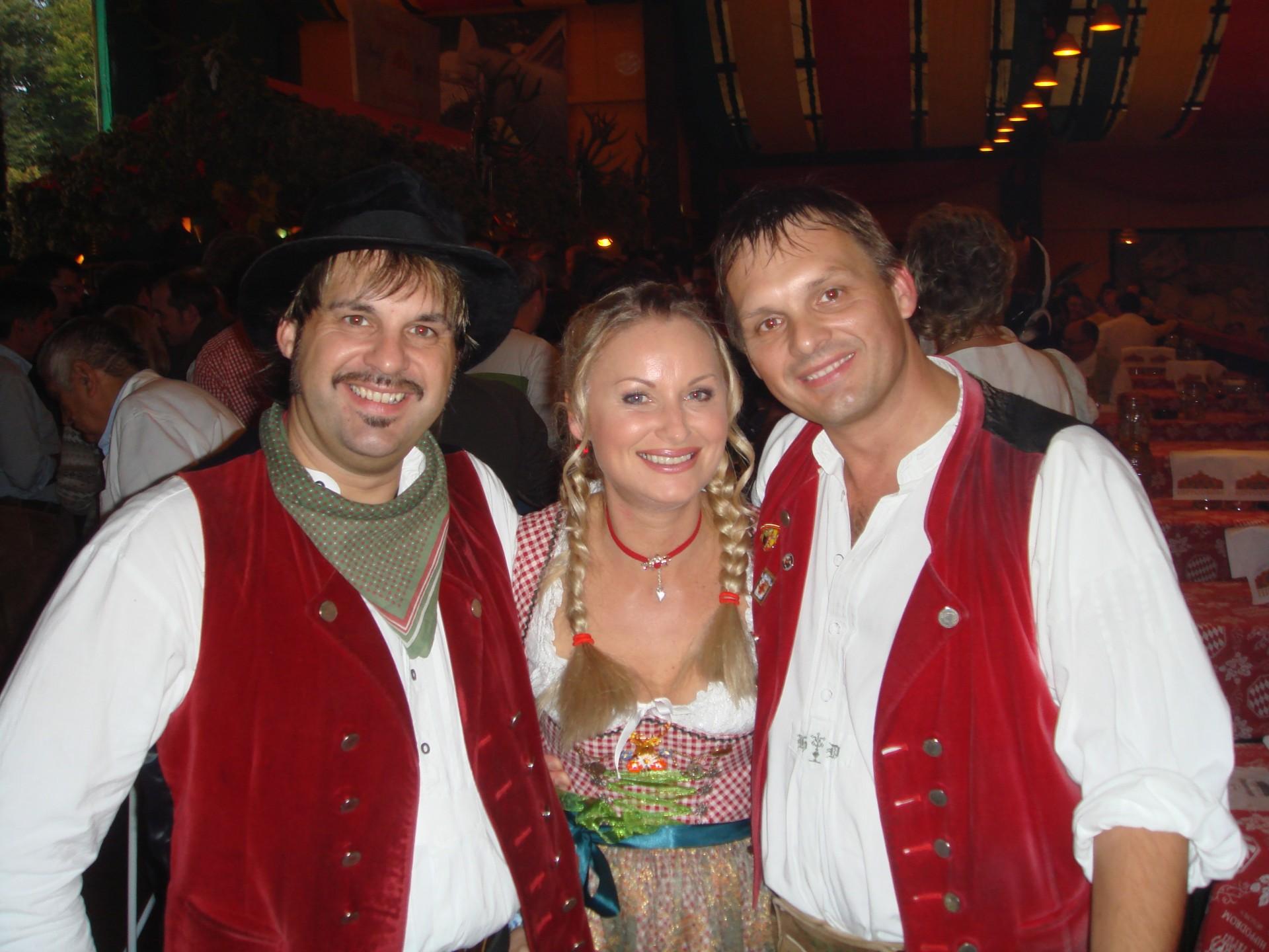 Simmisamma die Oktoberfestband – Konzert Hippodrom Oktoberfest München Deutschland 99