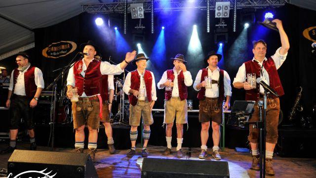 Simmisamma die Oktoberfestband - Konzert Nienburg Partynacht Deutschland 07